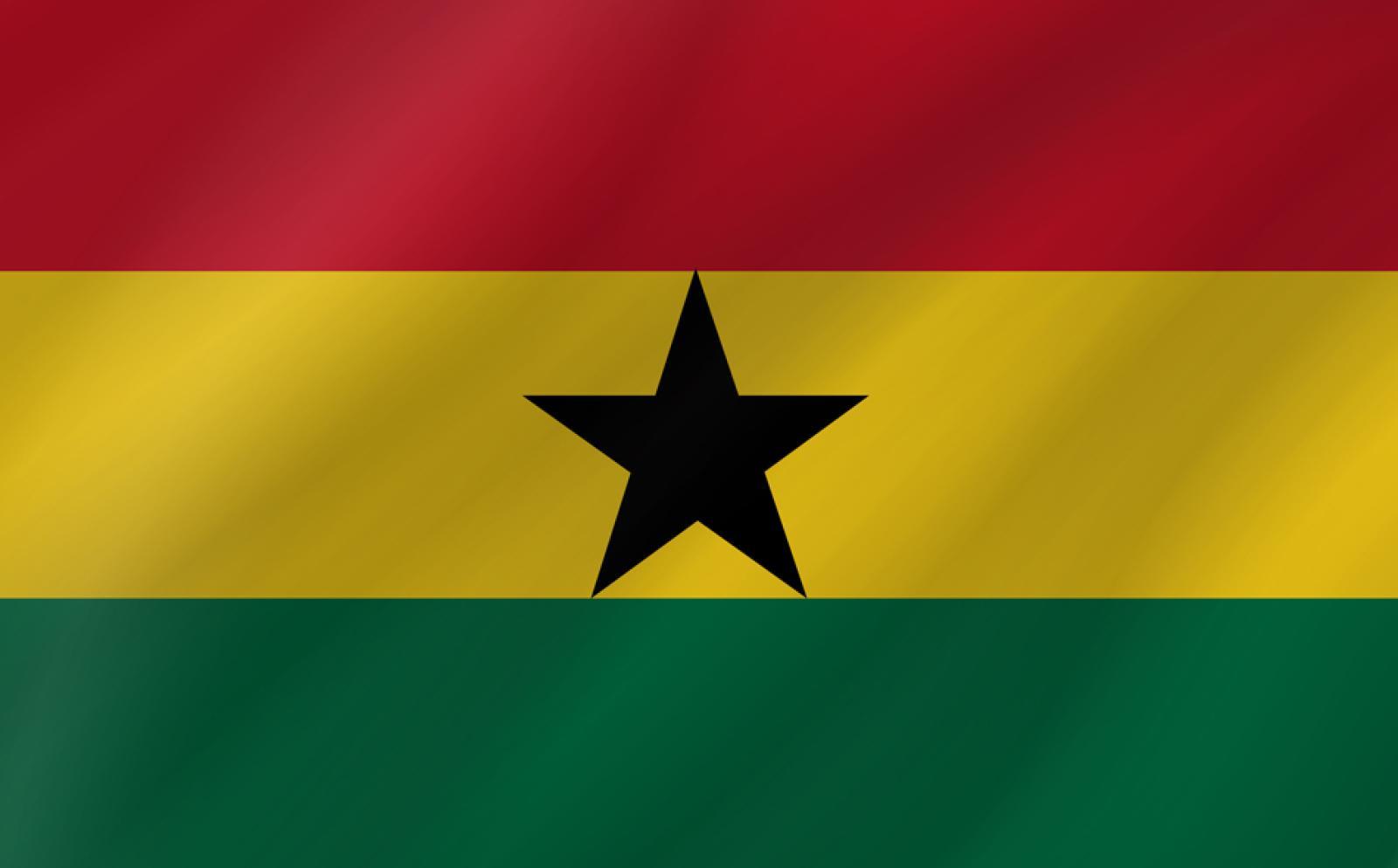 ガーナの国旗